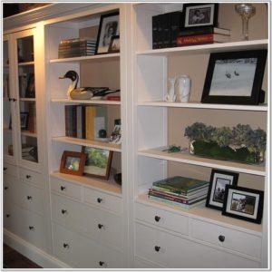 organized shelves